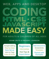 Coding HTML CSS JavaScript Made Easy - Adam Crute (ISBN: 9781786640611)