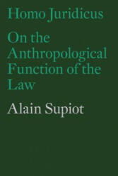 Homo Juridicus - On the Anthropological Function of the Law (ISBN: 9781786630605)