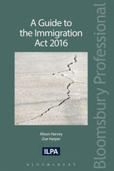 Guide to the Immigration Act 2016 (ISBN: 9781784519285)