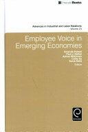 Employee Voice in Emerging Economies (ISBN: 9781786352408)
