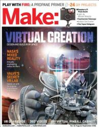 Make: Volume 52: Virtual Creation - Design and Build in VR Space (ISBN: 9781680452587)