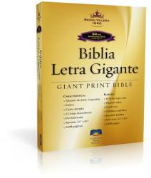 Giant Print Bible-Rvr 1960-50th Anniversary (ISBN: 9781585168972)
