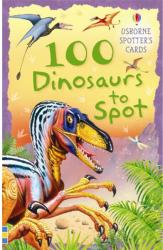 100 dinosaurs to spot (ISBN: 9780746088616)