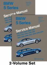 BMW 5 Series Service Manual 2004, 2005, 2006, 2007, 2008, 2009, 2010 (E60, E61) - Bentley Publishers (ISBN: 9780837616896)