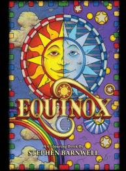 Equinox, a Colouring Book: International Edition (ISBN: 9780991321643)
