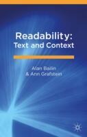 Readability: Text and Context - Alan Bailin, Ann Grafstein (ISBN: 9781137388766)