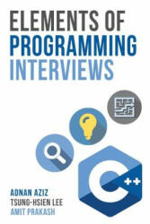 Elements of Programming Interviews - Adnan Aziz (ISBN: 9781479274833)