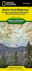 Glacier Peak/Wilderness/Mt. Baker-Snoqualmie Okanogan-Wenatchee National Forests, Washington, USA Outdoor Recreation Map (ISBN: 9781566955096)