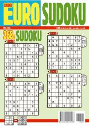 EURO Sudoku 2017/1. ### (ISBN: 9772064616718)