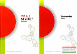 Dekiru - Japán nyelvkönyv kezdőknek - Nyelvkönyv és szószedet 56499 (2011)