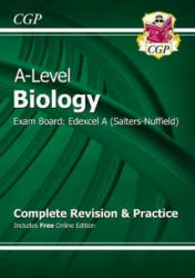 New 2015 A-Level Biology: Edexcel A Year 1 & 2 Complete Revision & Practice with Online Edition (2015)