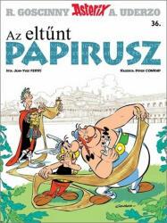 Az eltünt papirusz /asterix 36 (ISBN: 9789634150701)