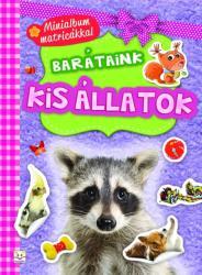 Barátaink: kis állatok /minialbum matricákkal (ISBN: 9786155634147)