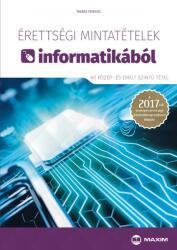 Érettségi mintatételek informatikából (2017)