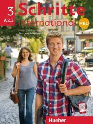 Schritte international Neu 3 A2.1 Kursbuch + Arbeitsbuch + CD zum Arbeitsbuch (ISBN: 9783193010841)