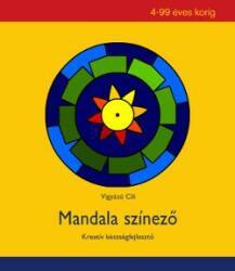 Vigyázó Cili: Mandala színező /KÖNYV/ (ISBN: 9789631277548)