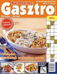 Kedvenc Gasztro rejtvénylap 2017/1 (ISBN: 9772063532712)