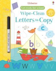 Get Ready for School Wipe-Clean Letters to Copy - Hannah Watson (ISBN: 9781474919029)