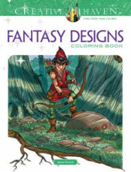 Creative Haven Fantasy Designs Coloring Book (2015)