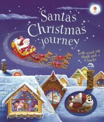 Santa's Christmas Journey with Wind-Up Sleigh - Fiona Watt (2016)