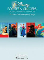 Disney for Teen Singers Young Women's Edition (ISBN: 9781495009976)
