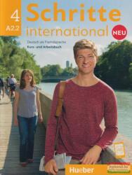 Schritte international Neu 4 A2.2 Kursbuch + Arbeitsbuch + CD zum Arbeitsbuch (ISBN: 9783196010848)