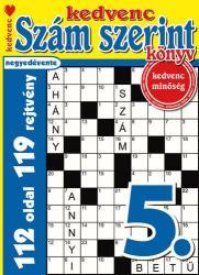 Kedvenc Szám Szerint Könyv 5. ### (ISBN: 9782498483305)