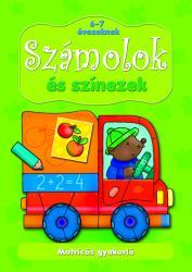Számolok és színezek 6-7 éveseknek (ISBN: 9786155335631)