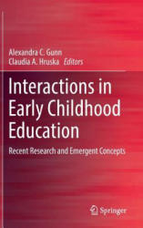 Interactions in Early Childhood Education - Recent Research and Emergent Concepts (ISBN: 9789811048784)