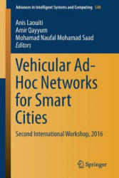 Vehicular Ad-Hoc Networks for Smart Cities (ISBN: 9789811035029)