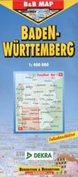 Baden-Wurttemberg/ 1: 400 000 (ISBN: 9783897077249)
