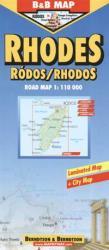 Rhodes/ 1: 110 000 (ISBN: 9783897070271)