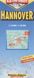 Hannover: City Streets/ 1: 10000 (ISBN: 9783897070721)