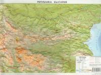 Стенна карта България/пътна (ISBN: 9789546511065)