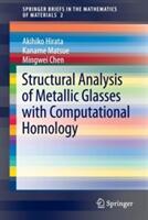 Structural Analysis of Metallic Glasses with Computational Homology - Akihiko Hirata, Kaname Matsue, Mingwei Chen (ISBN: 9784431560548)