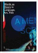 Words as Doors in Language, Art, Film (ISBN: 9783903004900)