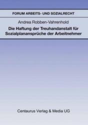 Forum Arbeits- und Sozialrecht - Andrea Robben-Vahrenhold (ISBN: 9783890859989)