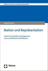 Nation und Reprsentation (ISBN: 9783848740369)