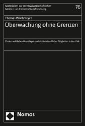 berwachung ohne Grenzen (ISBN: 9783848740253)