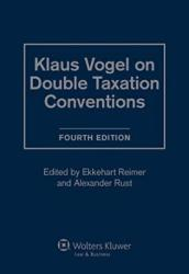 Klaus Vogel on Double Taxation Conventions (ISBN: 9789041122988)