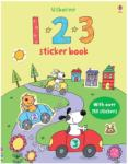 123 Sticker Book (ISBN: 9780746097861)