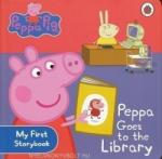Peppa Pig: Peppa Goes to the Library: My First Storybook (ISBN: 9781409304852)