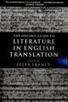 The Oxford Guide to Literature in English Translation (ISBN: 9780199247844)