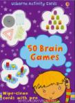 50 Brain Games - Activity Cards (ISBN: 9780746089132)