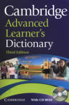 Cambridge Advanced Learner's Dictionary + CD (ISBN: 9780521712668)