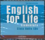 English for Life: Elementary: Class Audio CDs (ISBN: 9780194307420)
