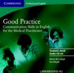 Good Practice 2 Audio CD Set: Communication Skills in English for the Medical Practitioner (ISBN: 9780521755924)