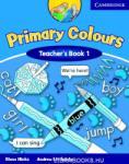 Primary Colours Level 1 Teacher's Book (ISBN: 9780521667265)