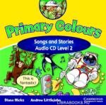 Primary Colours Level 2 Songs and Stories Audio CD (ISBN: 9780521751025)