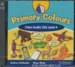 Primary Colours Level 4 Class Audio CDs (ISBN: 9780521699853)